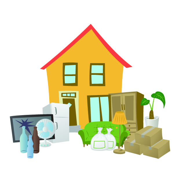 家の片付け/業者/アップターン